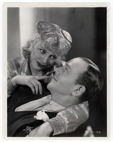 "Ginger Rogers and Fred Astaire publicity still for ""Flying Down to Rio"""