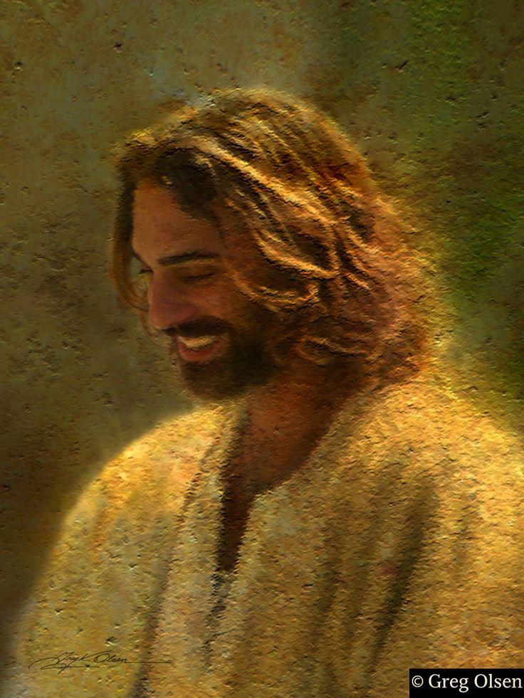 Image result for jesus smiling