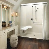 Tiled Walk In Showers Without Doors | Bathroom | Pinterest ...