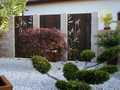 64 best images about Gartengestaltung on Pinterest  Planters Pebble garden and Haus