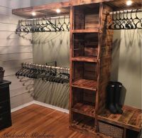 25+ best ideas about Rustic Closet on Pinterest