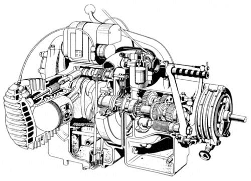 Cz Motorcycles Engine Diagram