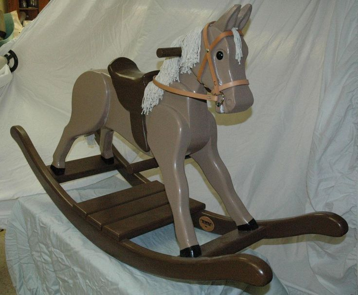 Wooden Rocking Horse Template Diy Projects Rocking Horses