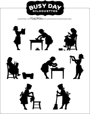 265 best images about Printables- Silhouettes on Pinterest