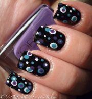 2 coats finger paints black expressionism