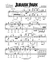 17 mejores ideas sobre Jurassic Park Piano en Pinterest