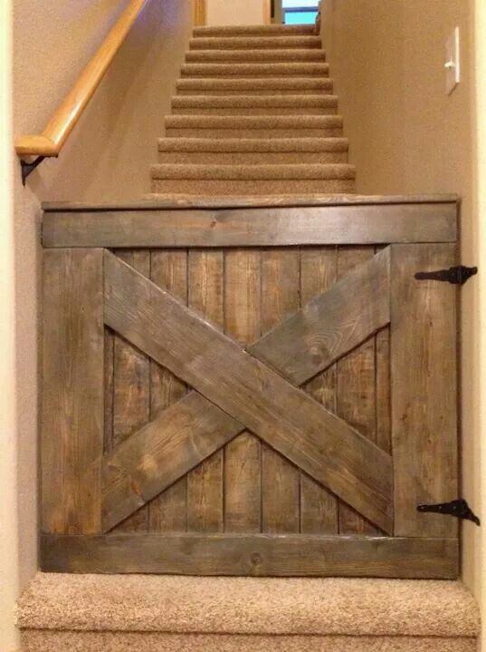 Custom Baby Gates For Stairs  WoodWorking Projects  Plans