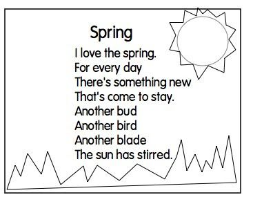 24 best images about Great poems for kids to memorize . on