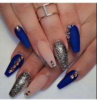 25+ best ideas about Royal Blue Nails on Pinterest | Royal ...