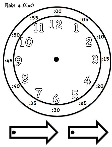 25+ best ideas about Clock for kids on Pinterest