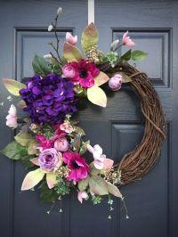 Best 25+ Spring wreaths ideas on Pinterest | Door wreaths ...