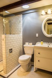 25+ best ideas about Half wall shower on Pinterest | Open ...