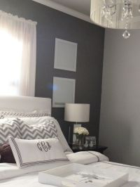 Two tone gray walls for my bedroom/bath | Bedrooms n such ...