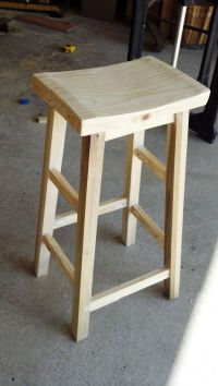 25+ Best Ideas about Diy Bar Stools on Pinterest | Wooden ...