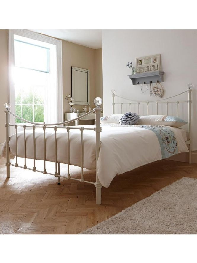 Bed Frame Isabella Metal With Optional Mattress Very Co Uk