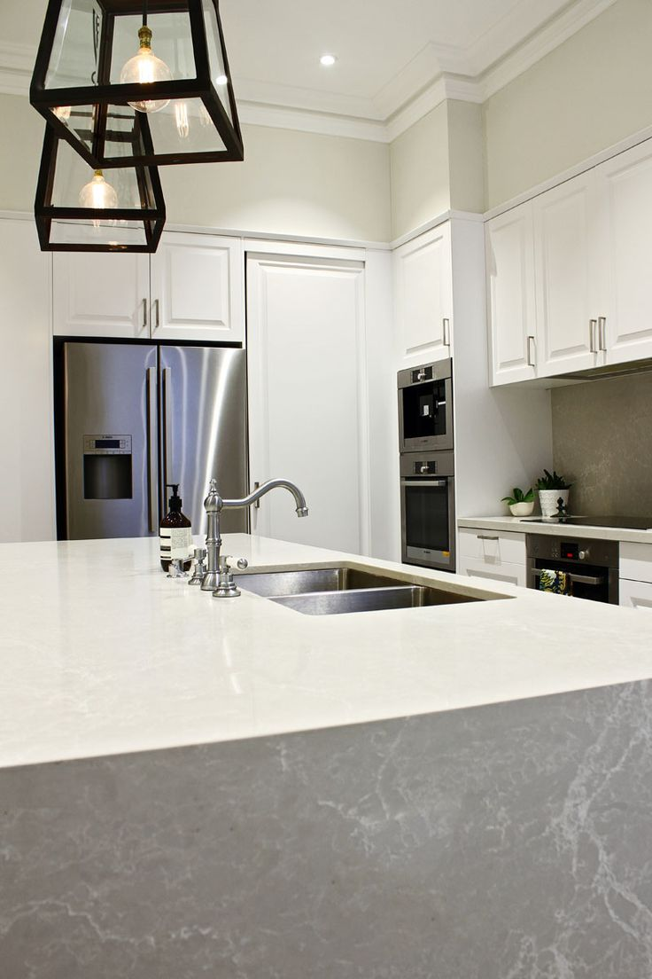 islands for kitchens kitchen counter rack kerry selby brown design   caesarstone ...