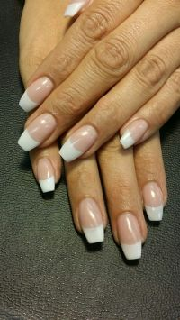 Best 25+ French acrylic nails ideas on Pinterest