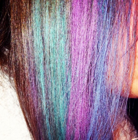 hair chalk temporary color for your hair dip dye pastels pick your color it s called