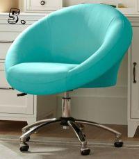 gorgeous robin's egg blue office chair... aqua | Aqua ...