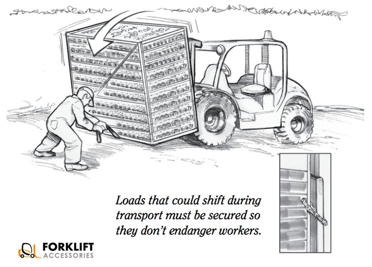 77 best images about ForkLifts Safety Tips on Pinterest