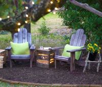 25+ best Backyard Seating ideas on Pinterest