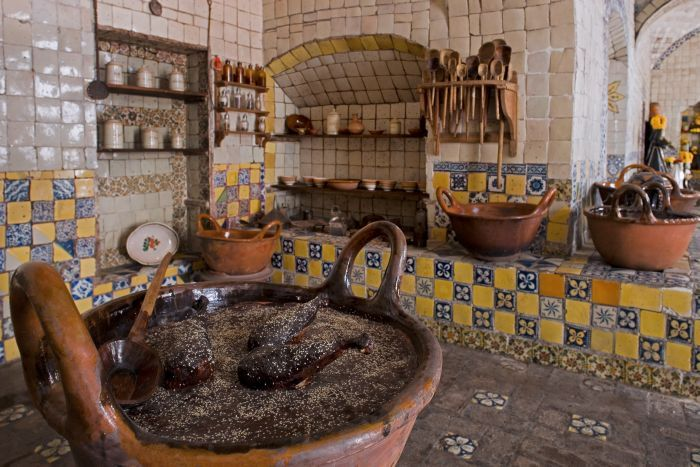 mexican style kitchen decor anti fatigue floor mats museo-ex-convento-de-santa-rosa-puebla | cocinas rústicas ...
