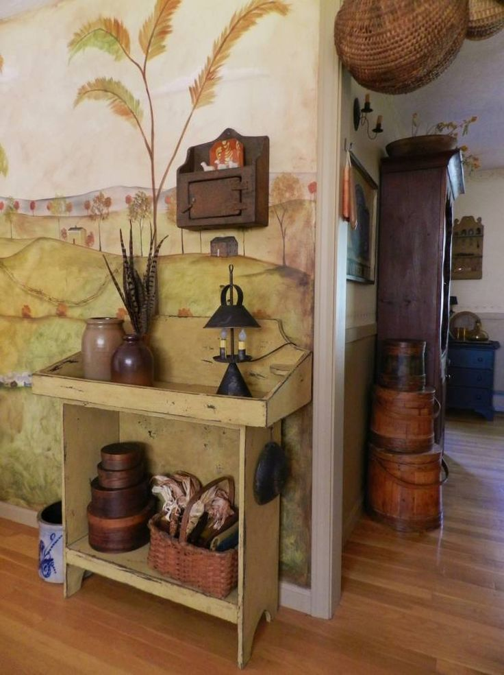 Bathroom Primitive Decor