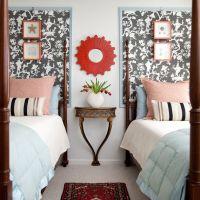 25+ best ideas about Wallpaper headboard on Pinterest ...