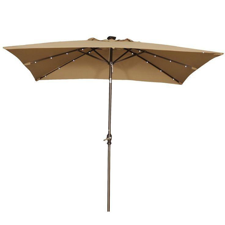 17 Best ideas about Rectangular Patio Umbrella on