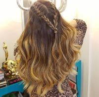 1000+ ideas about French Braid Waves on Pinterest | Cute ...