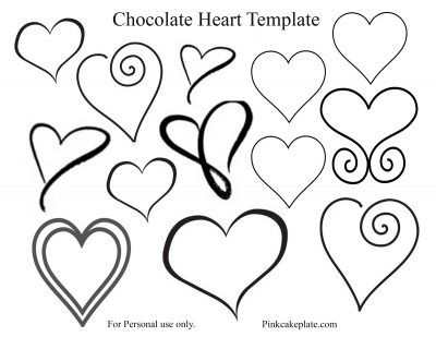 17 best ideas about Chocolate Template on Pinterest
