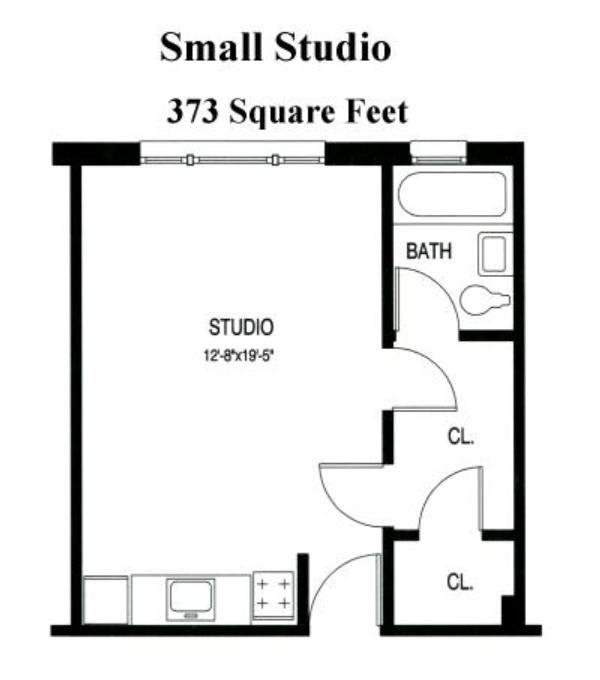 17 best ideas about Studio Apartment Floor Plans on