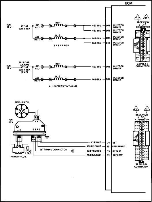 Chevy Hei Ignition System Wiring Diagrams Wiring Diagram For 1998 Chevy Silverado Google Search
