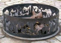 1000+ images about metal art on Pinterest | Fire pits ...