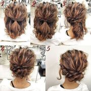 medium length updo ideas