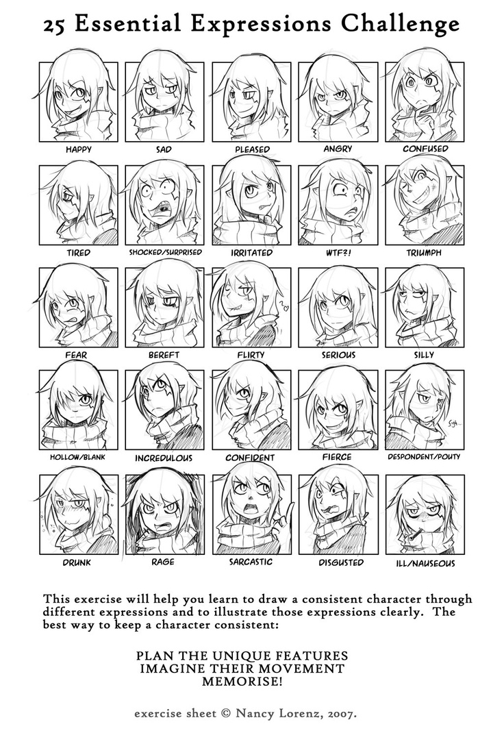1000+ images about 25 Expressions Challenge on Pinterest
