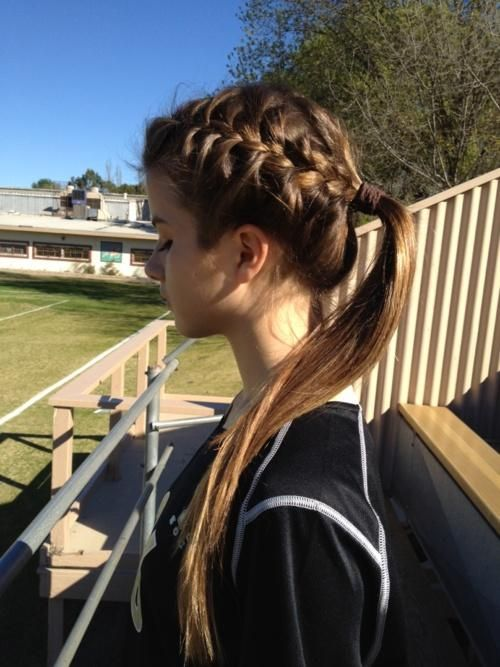 25 Best Ideas About Soccer Hairstyles On Pinterest Basketball