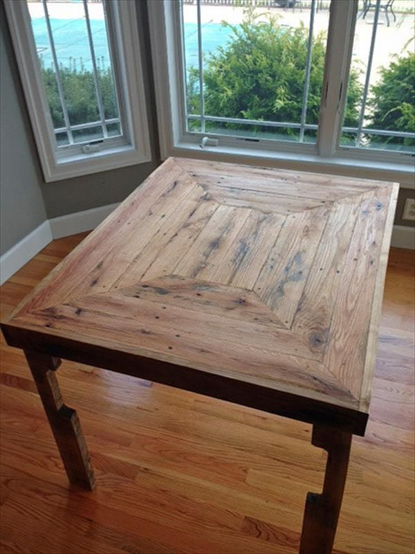 Wood Pallet Coffee Table Plans