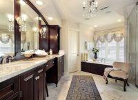 Elegant Master Bathroom   For the Home   Pinterest   Dark ...