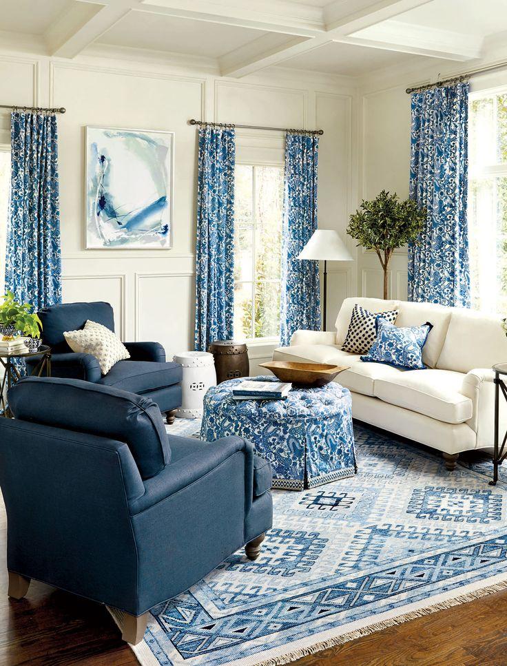 25 best ideas about Blue living rooms on Pinterest  Dark