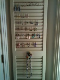 Creative and thrifty jewelry storage and organization ...