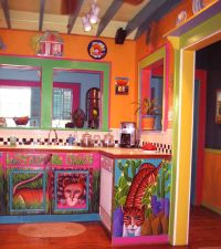 Painted kitchen cabinets! | Mexican Style | Pinterest ...
