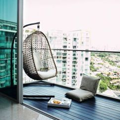 Garden Swing Chair Singapore Swivel Costco The 25+ Best Balcony Design Ideas On Pinterest | Small Design, Terrace And