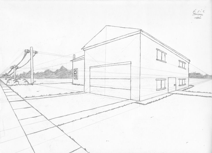 17 Best images about Two point Perspective on Pinterest