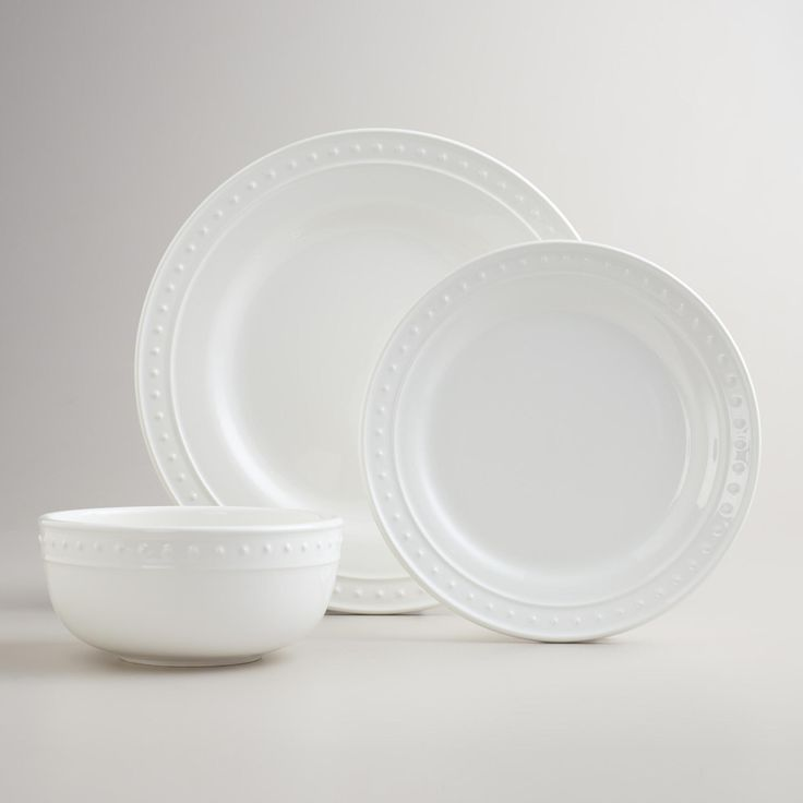 Our White Nantucket Dinnerware Is A Flawless Complement To