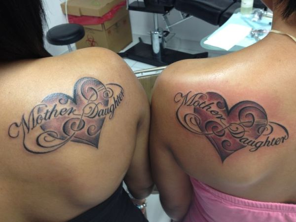 and mom matching tattoos