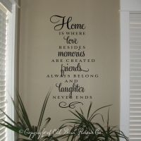 25+ best ideas about Vinyl Wall Sayings on Pinterest ...