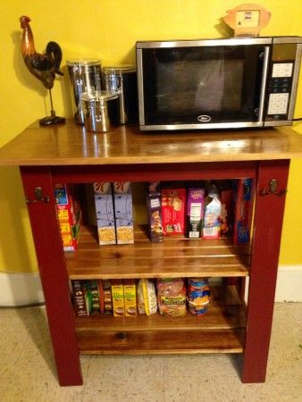 25 Best Ideas about Microwave Cart on Pinterest  Small kitchen cart Microwave storage and