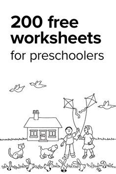 25+ best ideas about Worksheets for preschoolers on