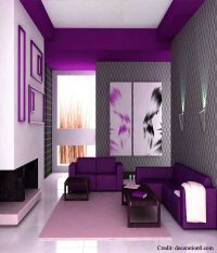 Best 25+ Purple Interior ideas on Pinterest
